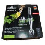 Braun MultiQuick 9 MQ 9005X Verpackung